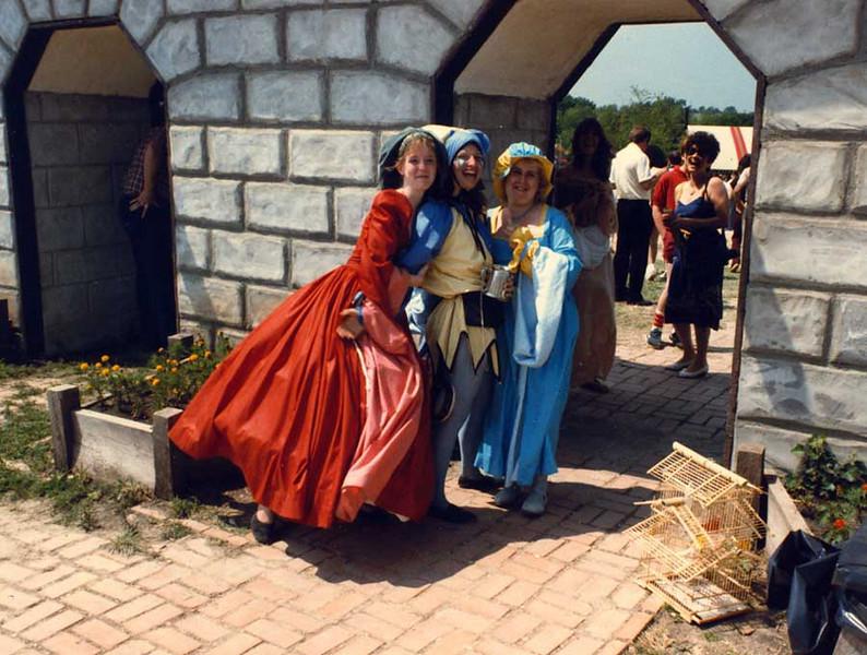 A Trio Of Fair Maidens