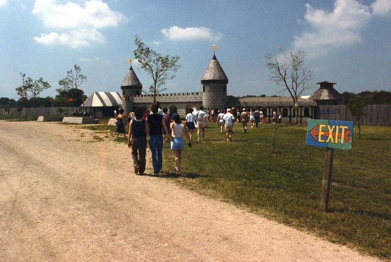 Approaching The Faire Grounds