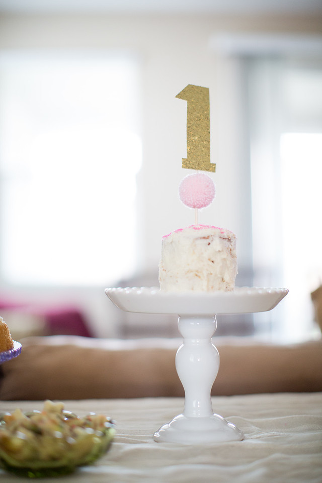 Scarlett's First Birthday