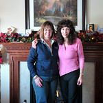 Scherer Family vist to PA : Joyce and family at our place Christmas of 08.