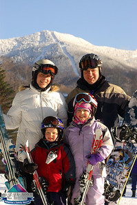 Scheuring Family -Feb.21 at Smugglers Notch