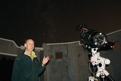 Astropphotography at Perth Observatory during Global Corporate Challenge -  27/6/2014