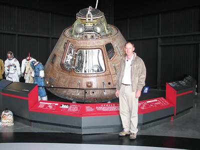 Apollo 16 Command Module at the US Space and Rocket Center in Huntsville Alabama, USA. - 22/9/2009