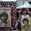 """Today marks 29 years since the disappearance of Nydia Erika, and it never stops making us sad, even though we found her body, but the impunity hits us hard, the persecution, that men who have us under surveillance and are watching our activities in recent days"""". Yanette Bautista, Nydia Erika's sister."""