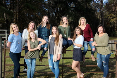 Senior Girls Photoshoot