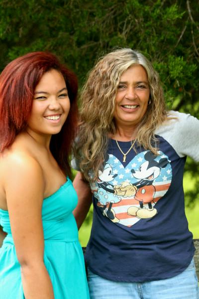 Katie and Sharon