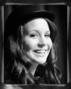 030 Abby McCoy Senior Oct 2010 (8x10) softfocus b&w