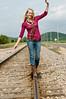 018 Shanna McCoy Senior Shoot - Train Tracks