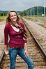 003 Shanna McCoy Senior Shoot - Train Tracks (plitz)