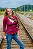 003e Shanna McCoy Senior Shoot - Train Tracks (plitz)(lucas)(brill-warm)