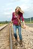 020 Shanna McCoy Senior Shoot - Train Tracks