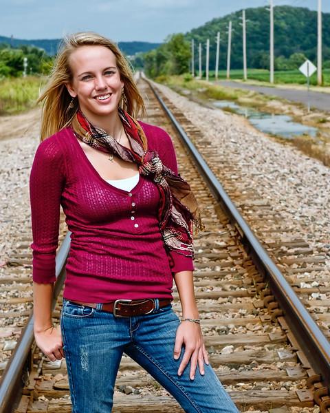 003f Shanna McCoy Senior Shoot - Train Tracks (plitz)(lucas)(brill-warm) 8x10