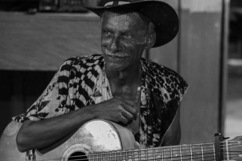 "Don Macías, ""The singer of Lejanías""."