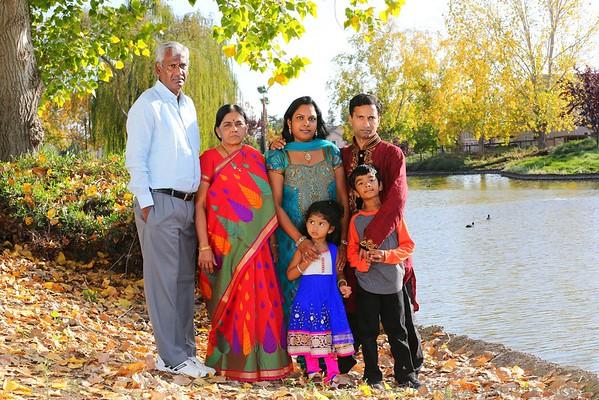 Shameela & Pradeep Family Portraits