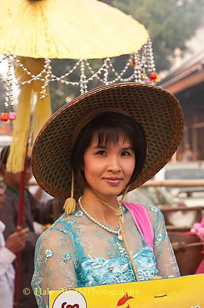 A Shan Beauty in Maehongson, Thailand