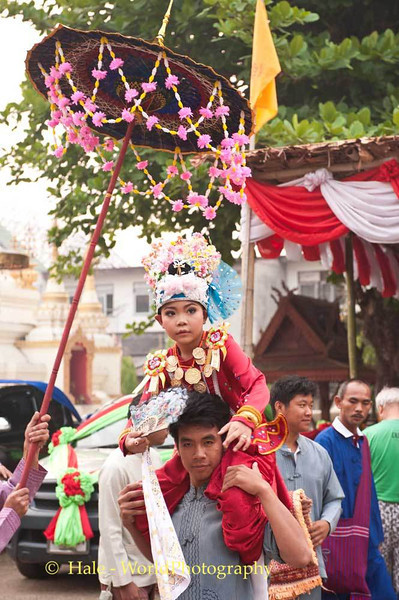 Poi Sang Long Festival Procession