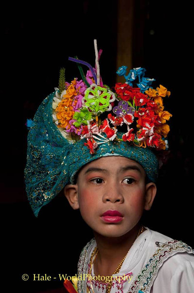 A Jeweled Prince in Maehongson, Thailand