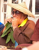 A Traditional Shan Musician, A Leaf Blower, Entertaining the Waiting Crowd