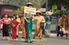 Poi Sang Long Parade Through Maehongson, Thailand