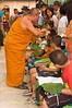 Abbott of Wat Jong Kum-Jong Klang Cutting Hair of Young Boys at Start of Poi Sang Long Festival, Maehongson, Thailand