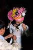 Sang Long (Jeweled Prince) at Wat Jong Kum - Jong Klang Getting Dressed
