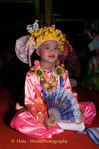 Sang Long (Jeweled Prince) at Wat Jong Kum - Jong Klang