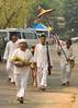 Shan Elders Leading Parade for Poi Sang Long Festival, Maehongson, Thailand