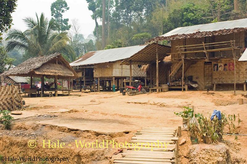 Ban Nai Soi Refugee Camp Buildings