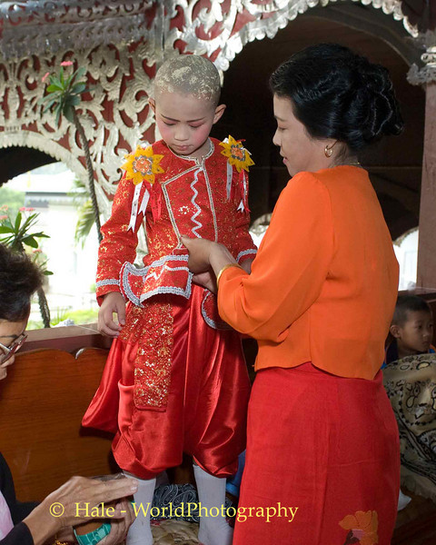 Shan Mother Dressing Her Jeweled Prince (Poi Sang Long)
