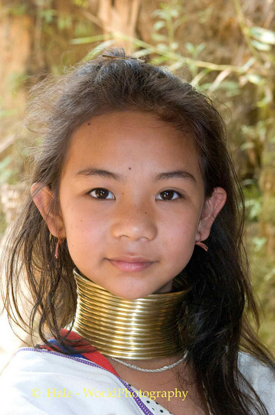 Baan Nai Soi Refugee Camp - Eleven Year Old Padaung Girl
