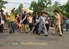 Shan Men Dancing Through Streets of Maehongson, Thailand