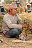 Shan Worker Bundles Garlic