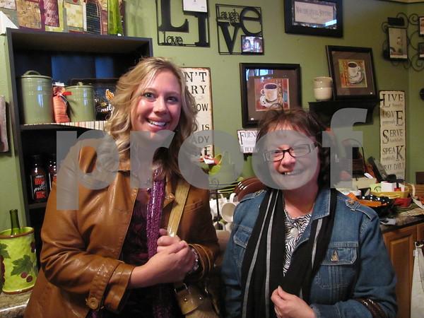 Jill Davis and Michael Bacon at 'Design Two'.