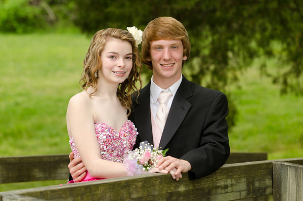 Siearra and Alex Prom Pics
