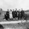 Group of Women in a Field (03933)