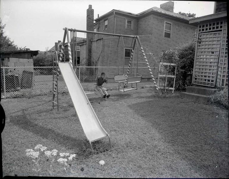 Child on Swing Set II (03562)