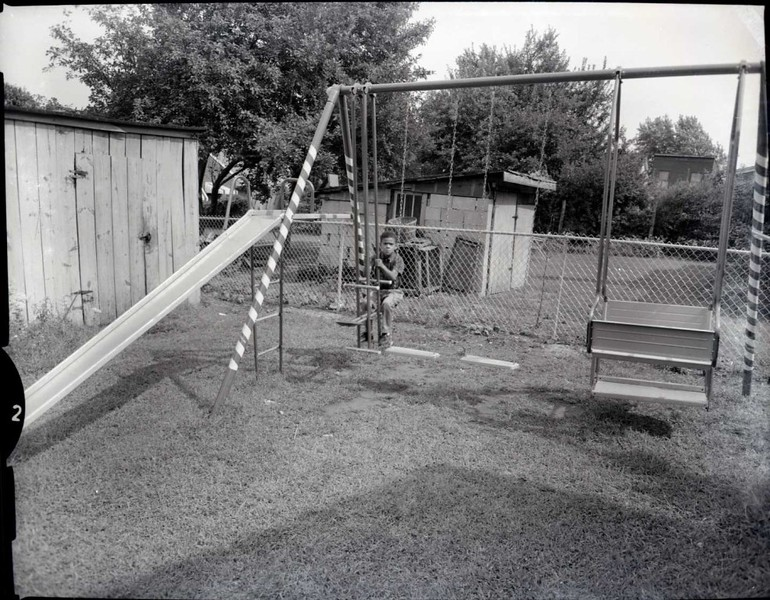 Child on Swing Set III (03563)