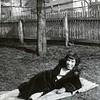 Unknown Woman in Backyard (03848)