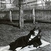 Unidentified Woman in Backyard (03848)