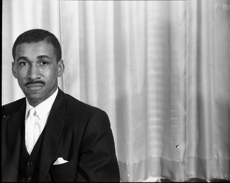 Unidentified Man in a Suit 1965 II (03474)