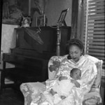 Women and Baby in a Chair (03920)