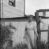 Woman in Yard (03911)