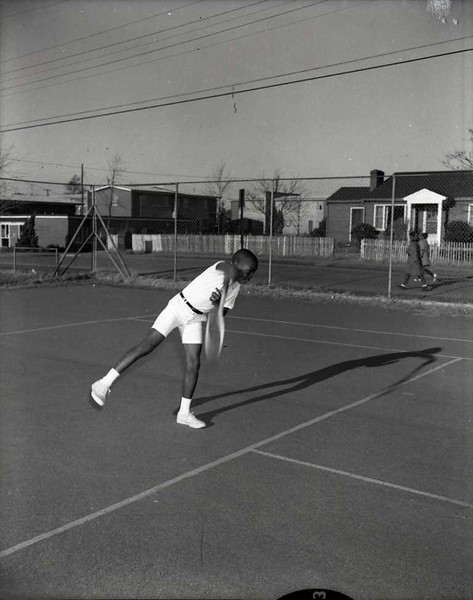 Boy Playing Tennis (03808)