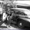 Woman Next to Car (03877)