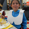 Sawyer Reed poses for photo at his first grade Thanksgiving Feast. Dawn Schabbing photo