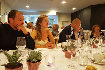 Wedding day: The start of the evening dinner & party