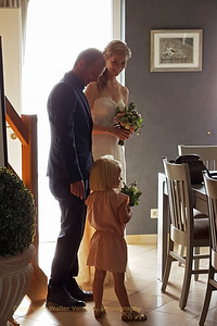 Wedding day: the groom has found his bride...