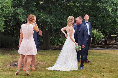Wedding day: The photoshoot with the 4 witnesses...