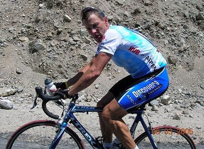 Special: Lance Armstrong Visits and Trains in LA Area May 2005