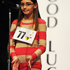 Globe/T. Rob Brown<br /> Joplin Globe Spelling Bee winner Jaden Gallagher claps as she is declared the winner Monday morning, March 18, 2013.